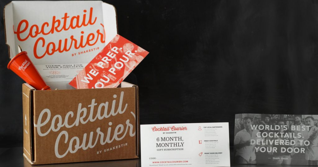 groomsmen gift ideas - cocktail courier subcription