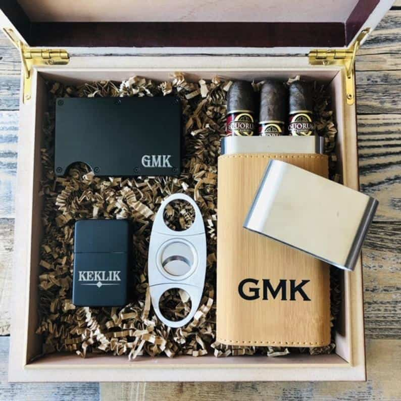 useful groomsmen gifts - boxes