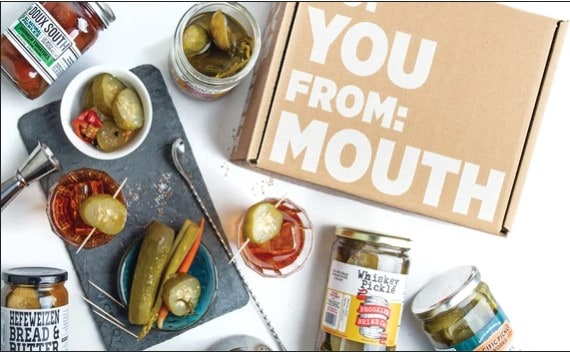groomsmen gift ideas - mouth subscription
