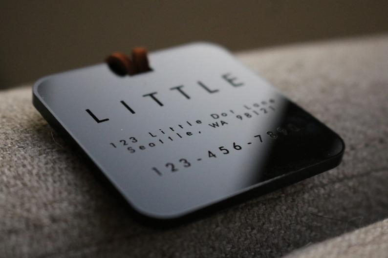 engraved groomsmen gifts - luggage tags