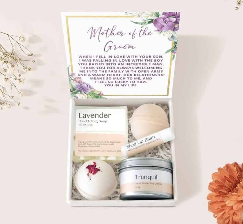 Mother of the Groom Spa Gift Box