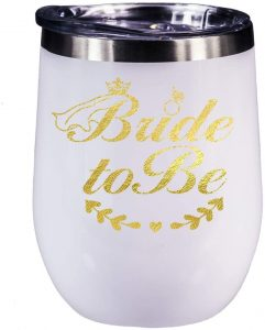 Bride to Be Bachelorette Wine Glasses