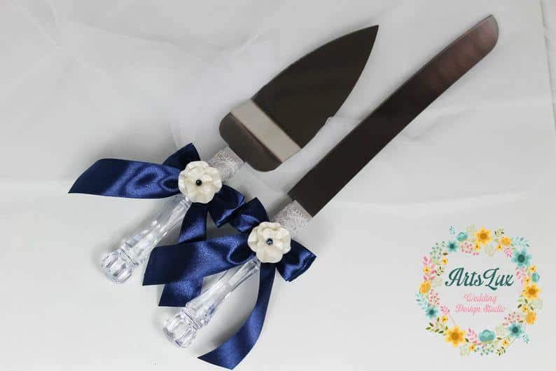 engagement party gift:Cake Cutting Set