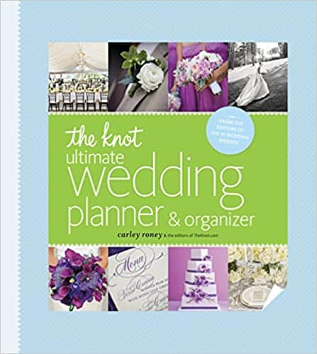 engagement gifts for her:The Knot Ultimate Wedding Planner & Organizer