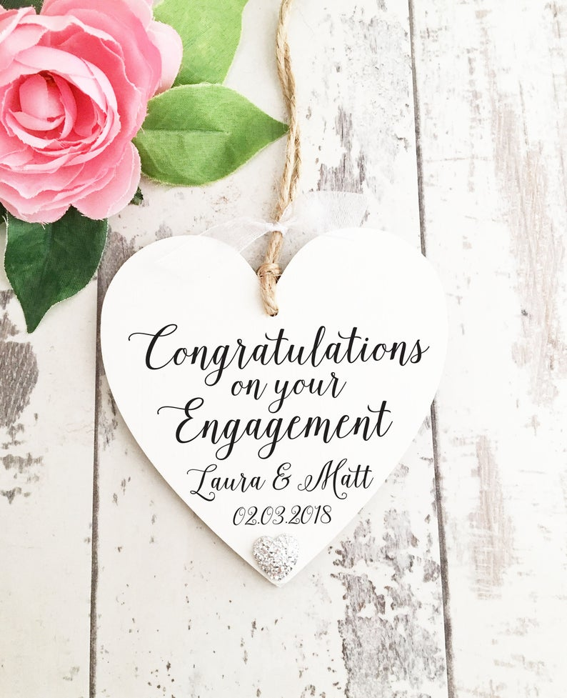 Unique Engagement Heart