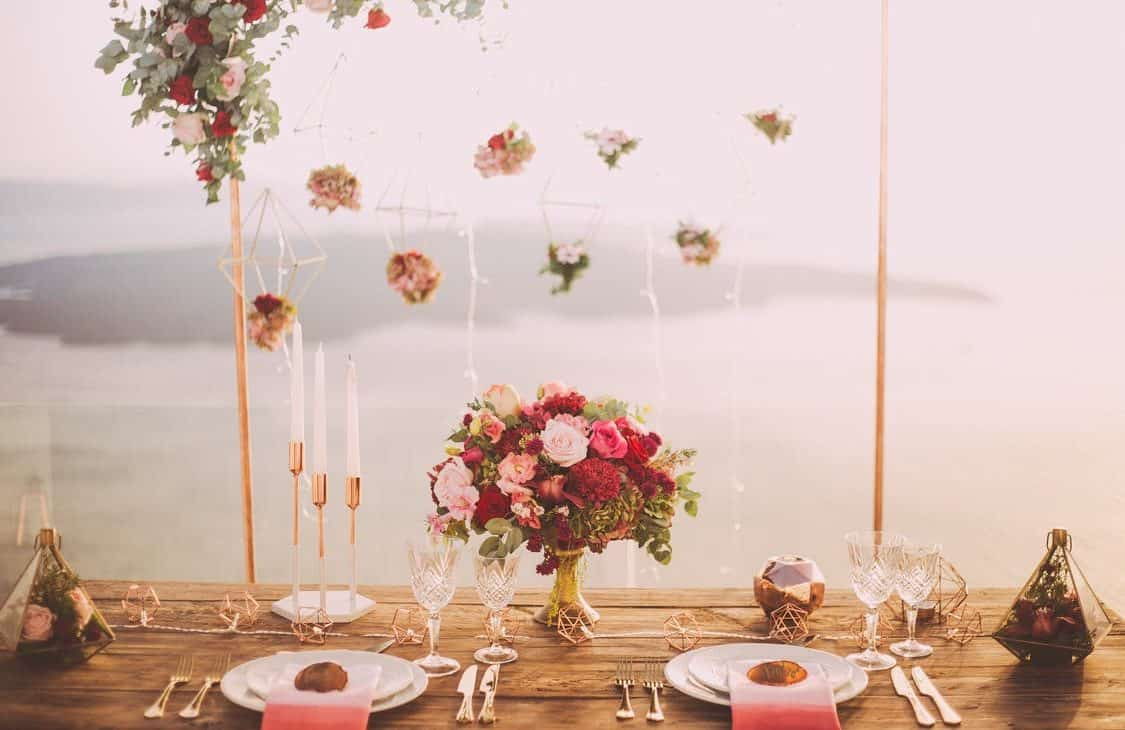 table decorations for engagement party:choose a venue for engagement party