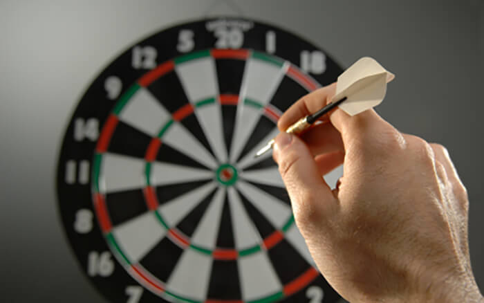 bachelor party games ideas - darts
