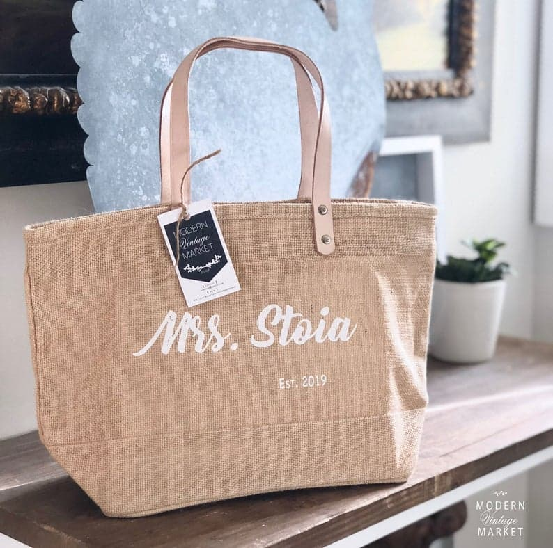 bachelorette party gifts - tote bags