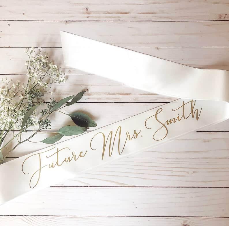 mrs future sash