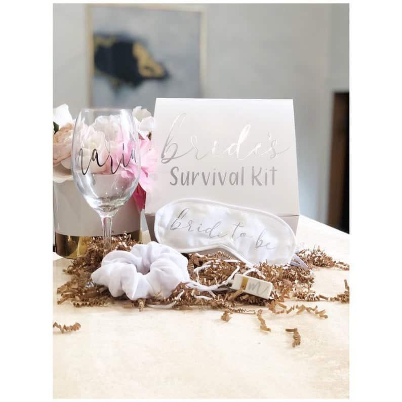 bachelorette party gifts - survival kit