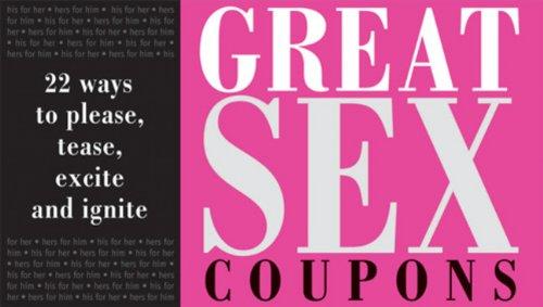 great sex coupon