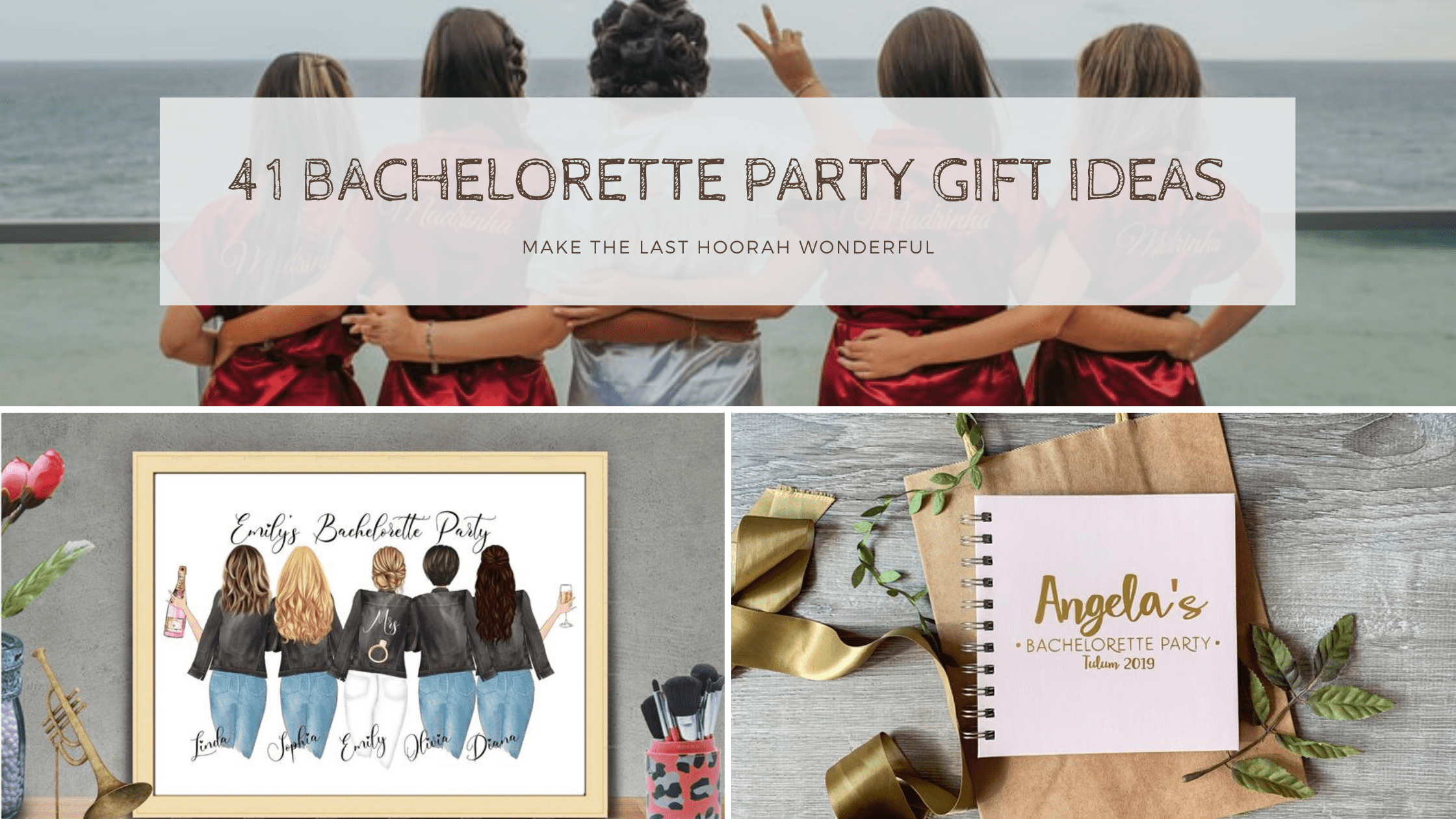 41 Bachelorette Gift Ideas to Bring Alive the Hen Do