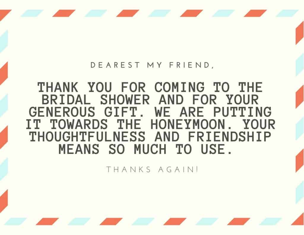 thank you notes for friends and family
