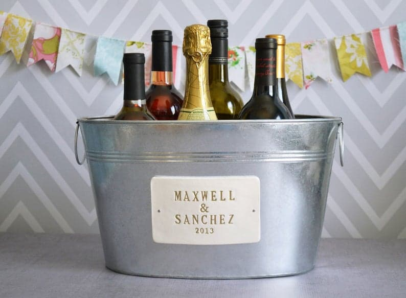 personalized wedding gifts - beverage