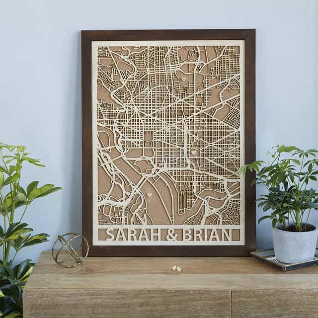 wood city map
