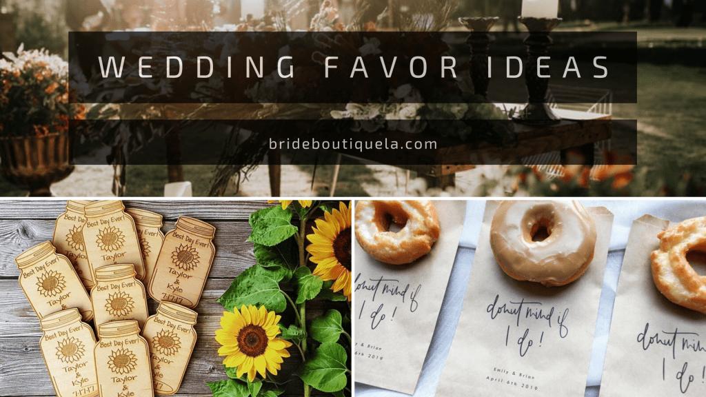 wedding favor ideas - thumbnail