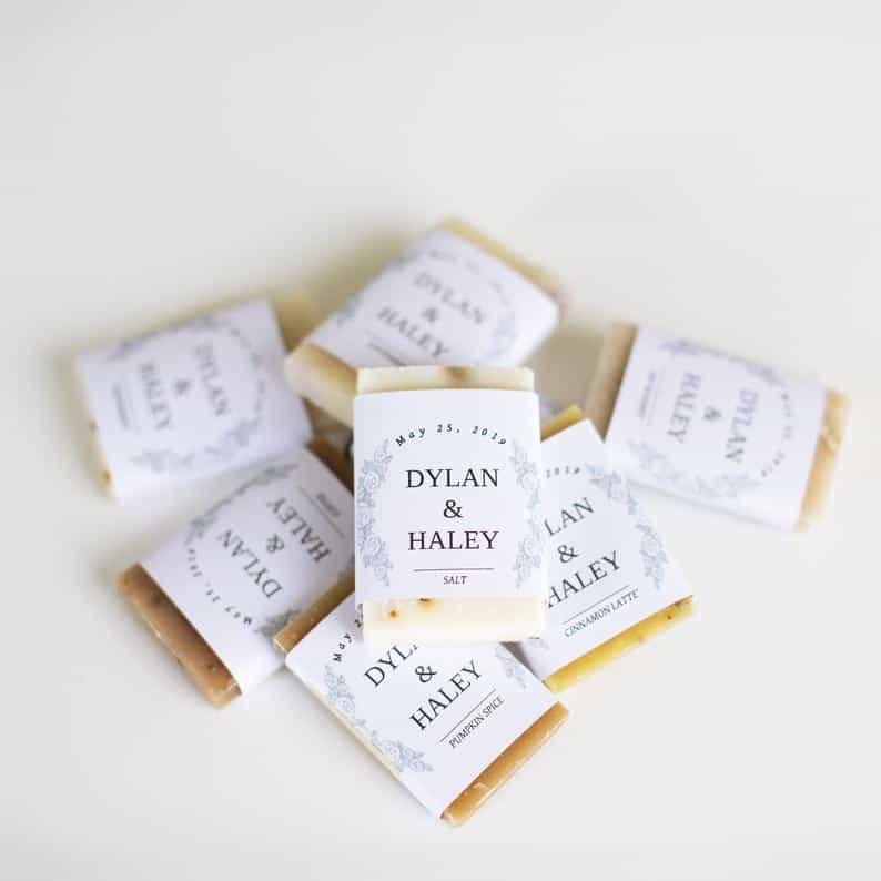 wedding favors - soaps