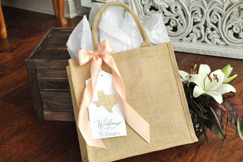 wedding bags - wedding favor ideas