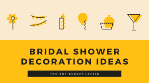 bridal shower decoration ideas - thumbnail