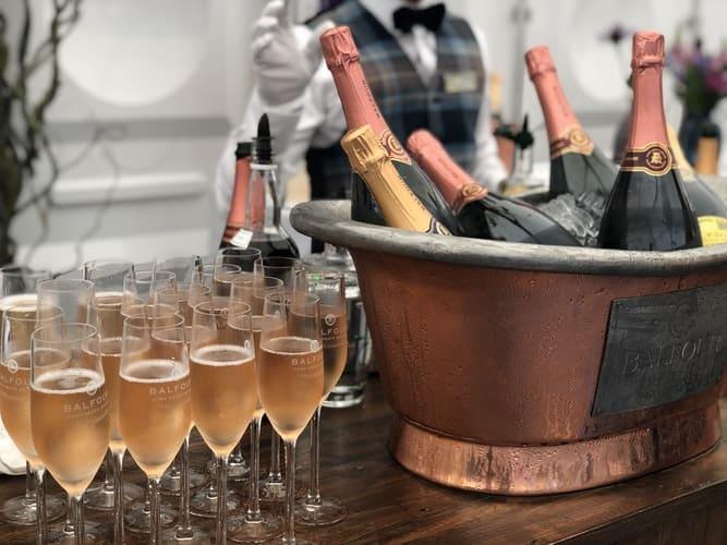 theme bridal shower favors:Champagne Brunch