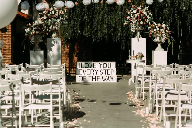 outdoor themed bridal shower:Garden Party