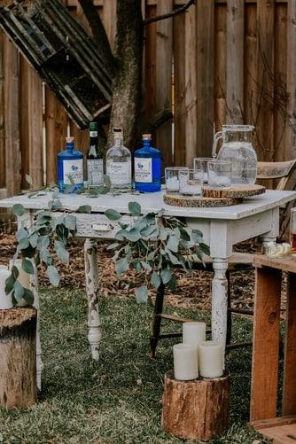 rustic bridal shower themes:Summer Garden Picnic