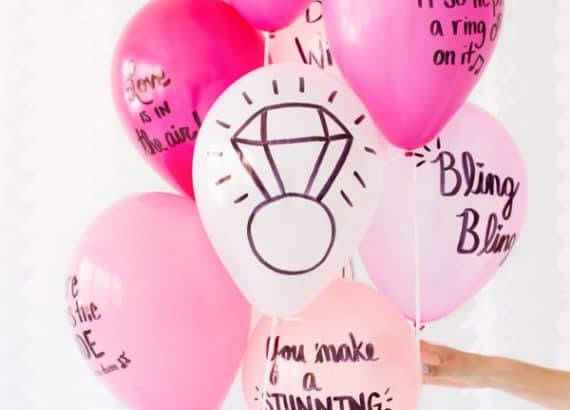cute party decorations: Balloon Wishes