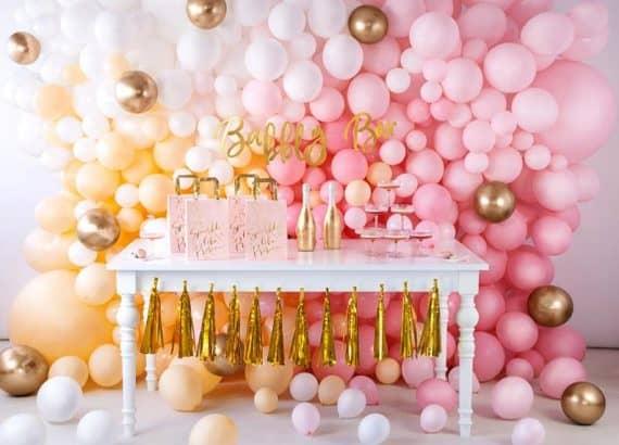Blush Pink Balloon Wall Decoration Garland Kit Arch :Blush Pink Balloon Wall Decoration Garland Kit Arch