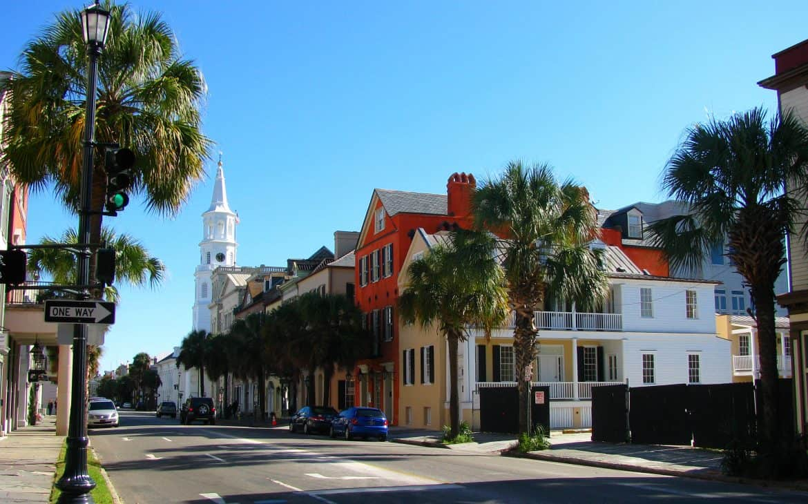 good bachelorette party destinations:Charleston, South Carolina