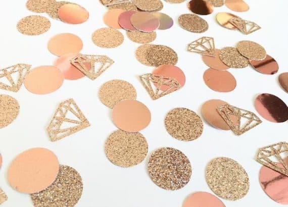 cute decor:Diamond Confetti