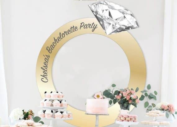 Diamond Ring Photo Frame