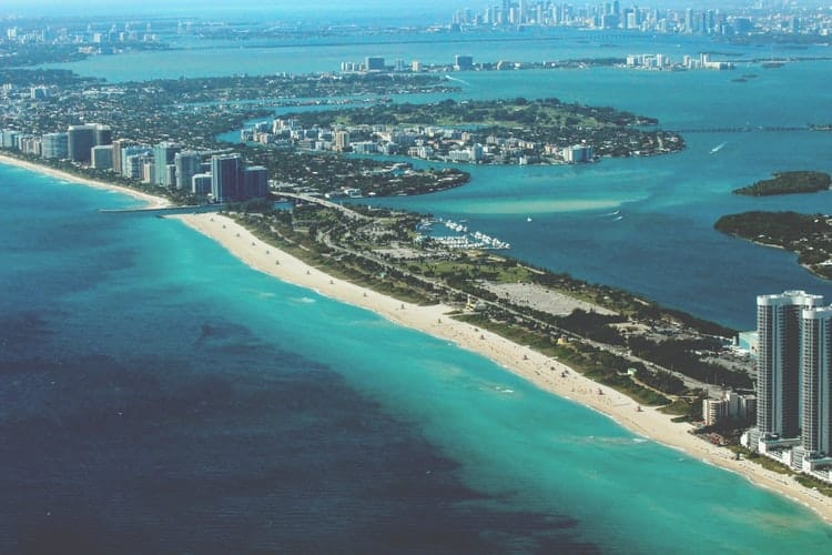 best places to go for a bachelor party:Miami Floria