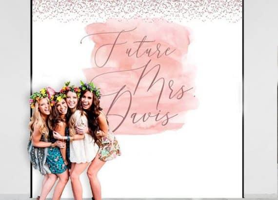 Rose Gold Photo Backdrop