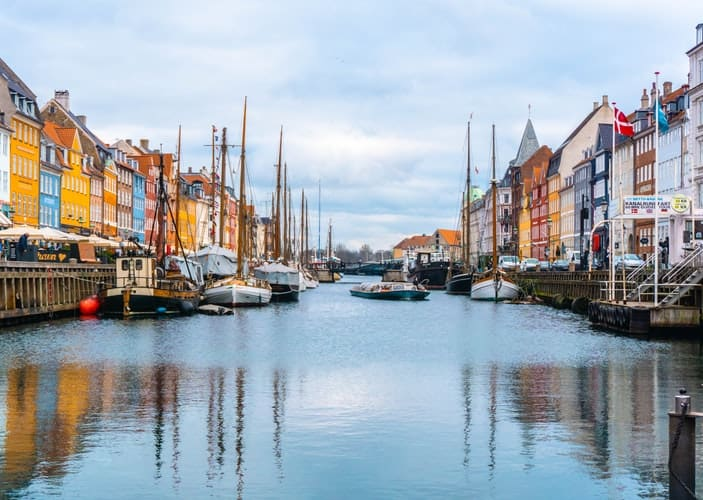 Copenhagen, Denmark - best bachelor party destinations in the world