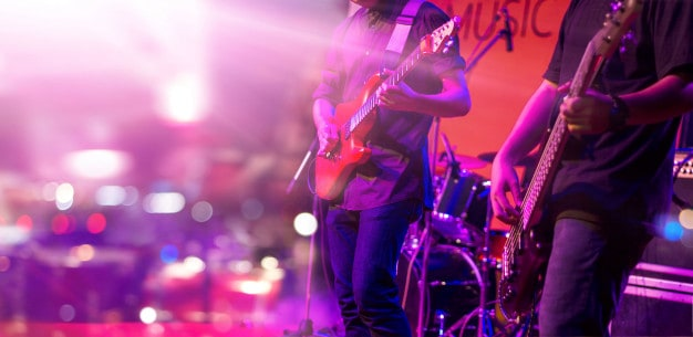 go to a concert - ideas for bachelor party