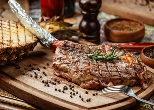 feast on steak
