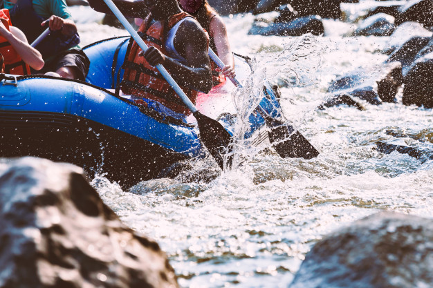 water rafting - best bachelor party ideas