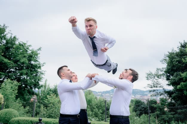 bachelor party planning - groom