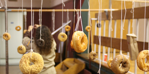 donut on a string