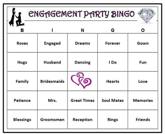 Engagement-Bingo