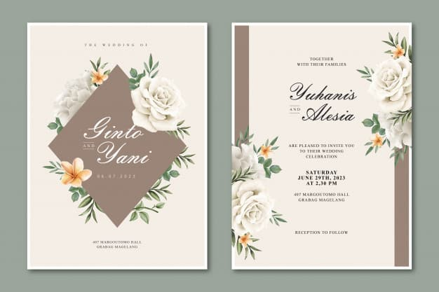 engagement templates & invitation wordings: engagement party hosted by firend