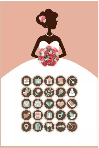 bridal shower gift bingo: gift bingo