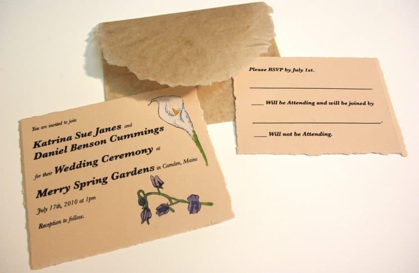 Wedding Invitation Wording: Formal & Casual Samples