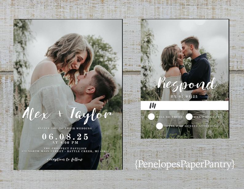cool invitations design:Custom Photo