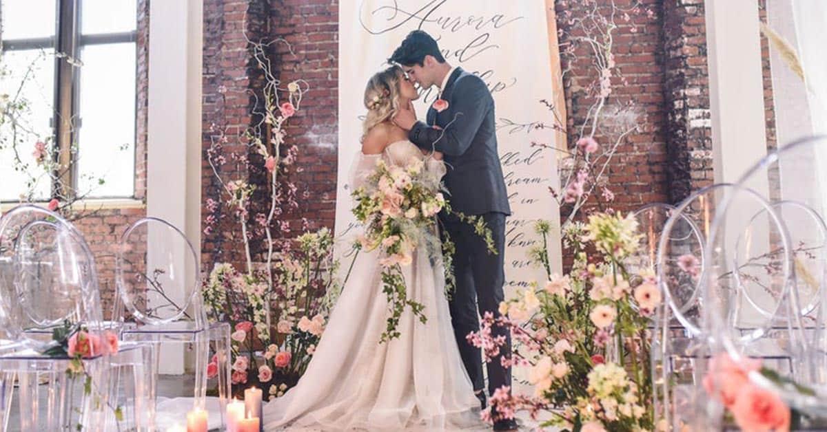unique idea for wedding ceremony:Favorite Words