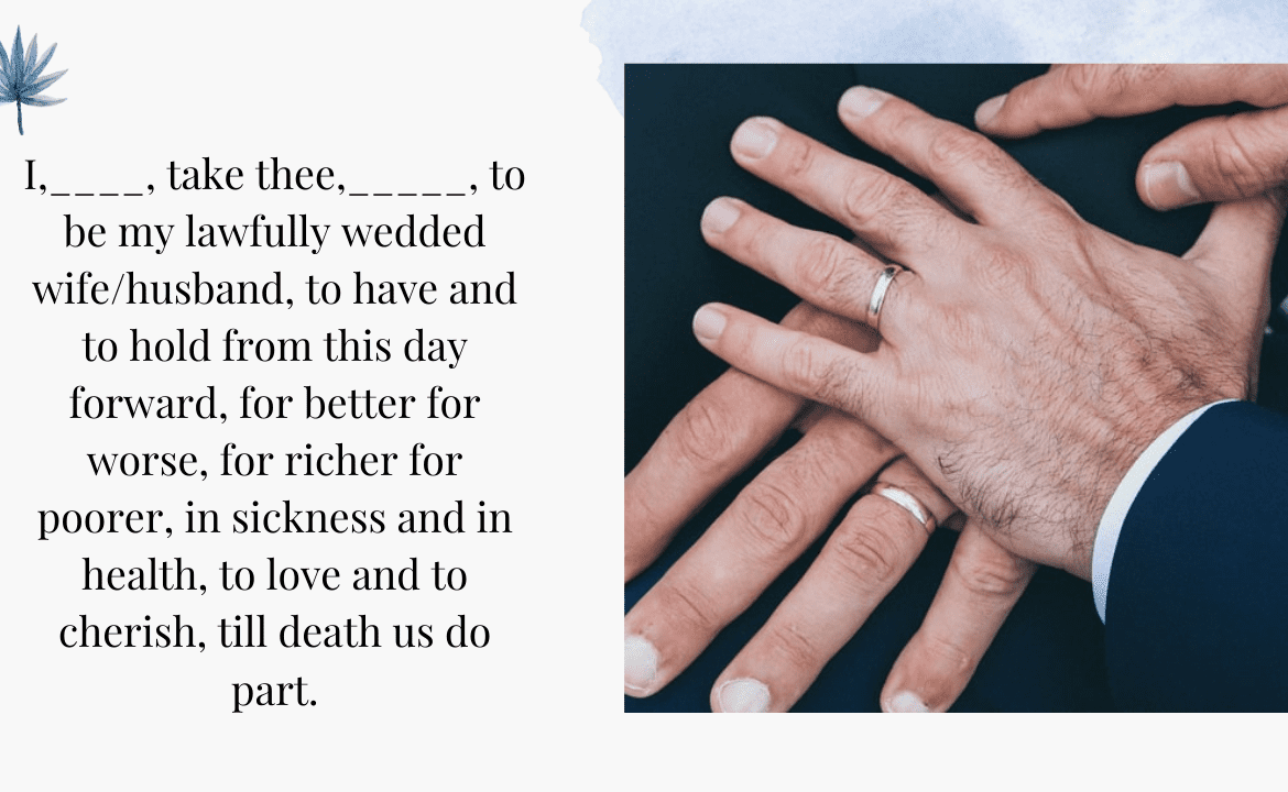 23+ Gay Wedding Vows: Guide to Writing Wedding Vows for