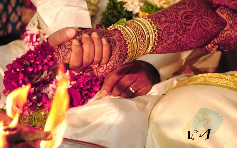 standard marriage vows:Hindu Wedding Vows