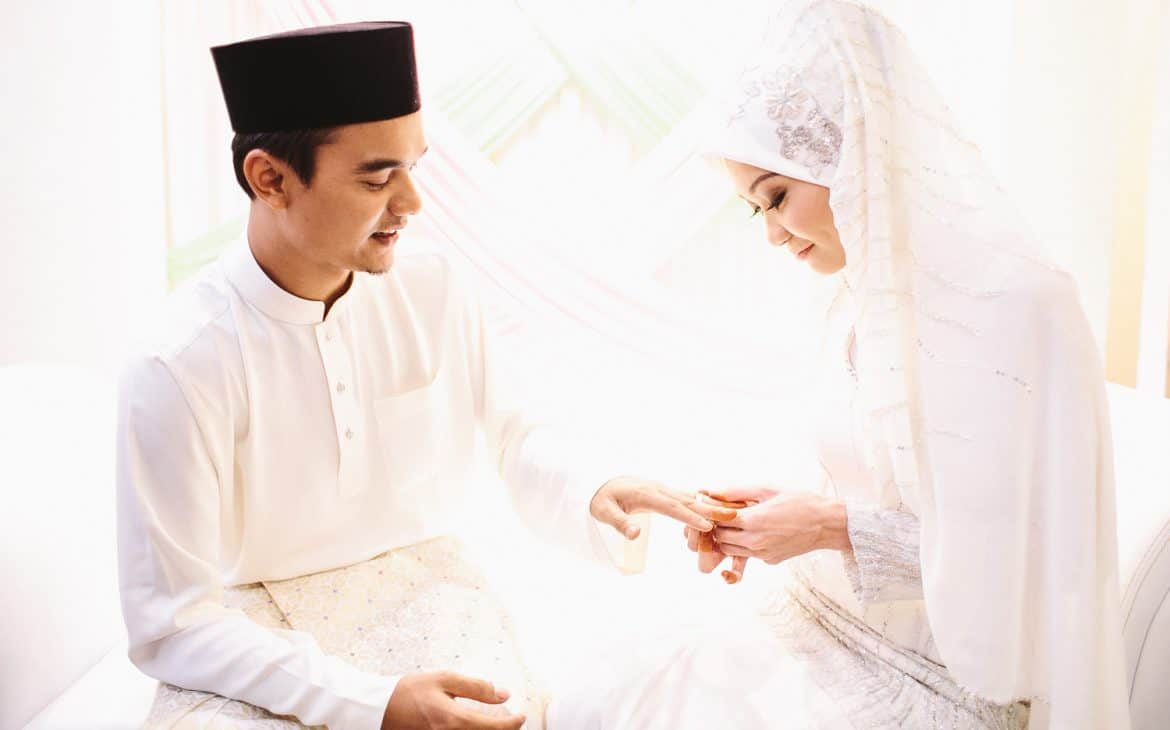 marriage vows examples:Muslim wedding vow