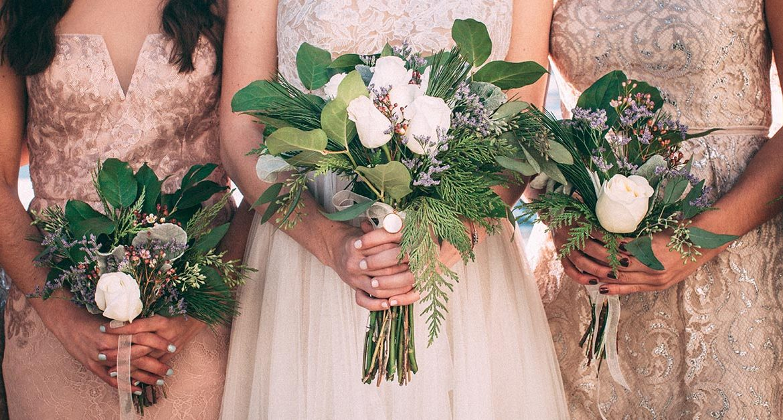 wedding celebrations ideas:bouquet Nick