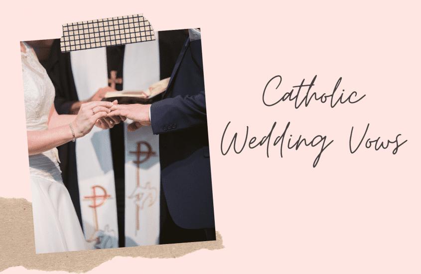 catholic wedding vows - thumbnail